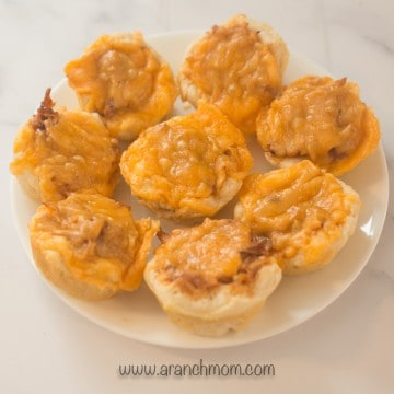 easy bbq chicken cups