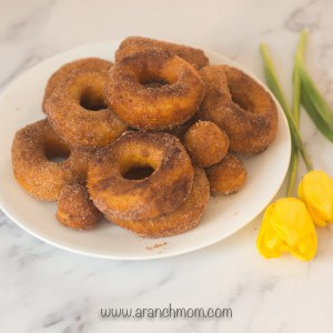 Easy donuts from biscuits