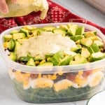 Southwest Layered Salad