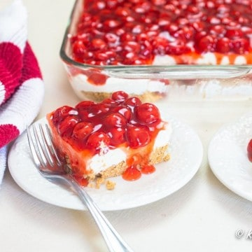 cherry delight on plate