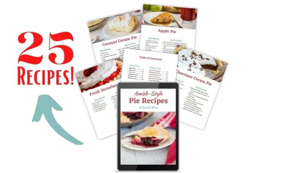 amish pie recipes ebook graphic