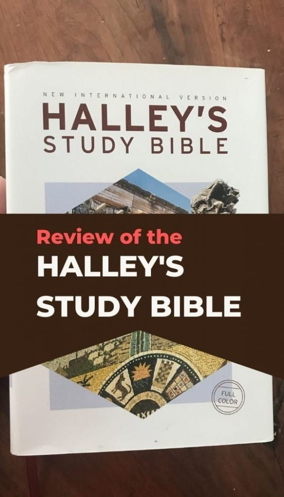 pin image for NIV Halley's Study Bible