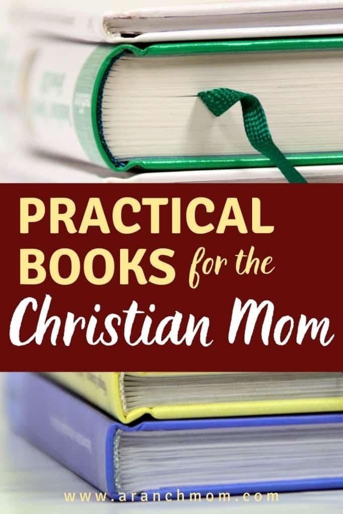pinterest image for books for christian moms