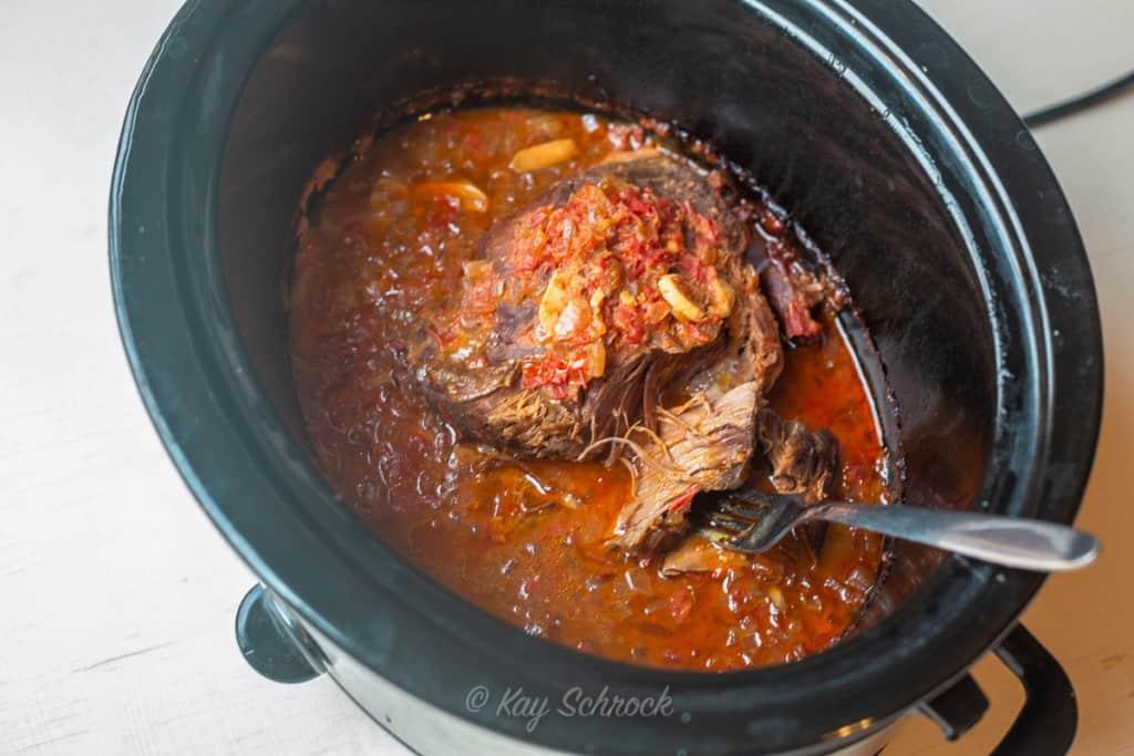 antelope roast in crockpot