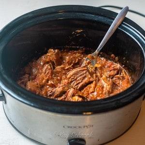 antelope meat in crockpot
