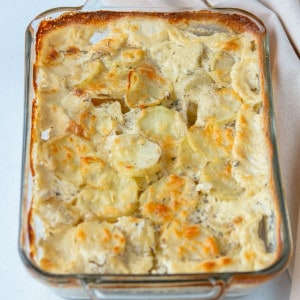 old-fashioned scalloped potatoes