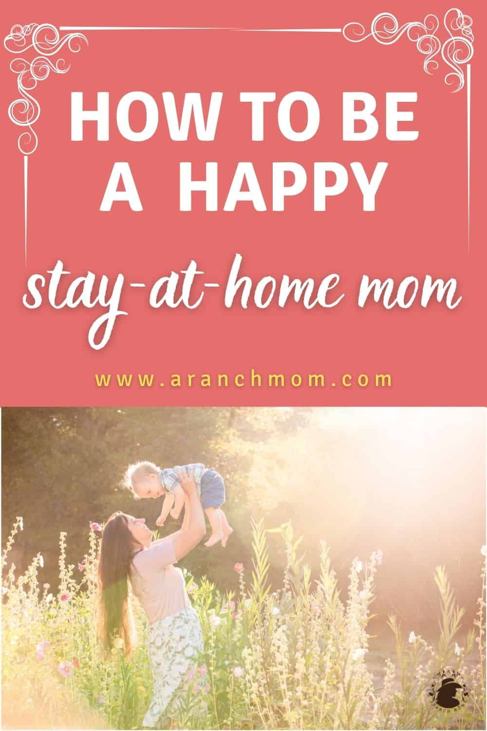 happy mom and baby pin image